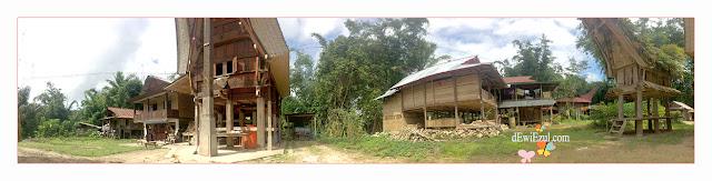 beda Tongkonan denganLumbung Padi Toraja