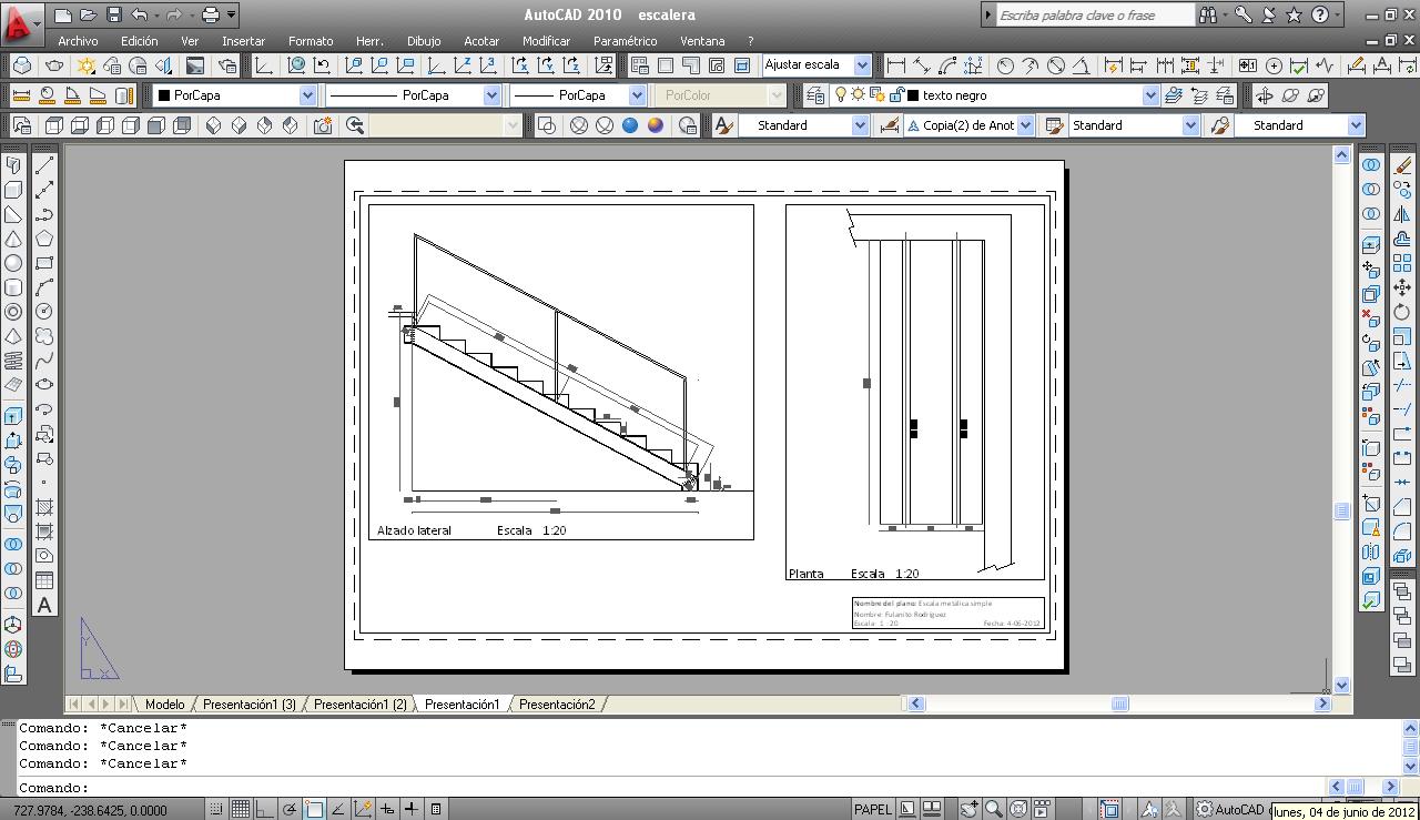 como dibujar escala grafica autocad chungcuso3luongyen