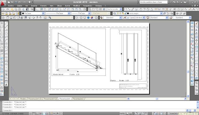 Aytuto trazar o imprimir en autocad for Programa para hacer planos a escala