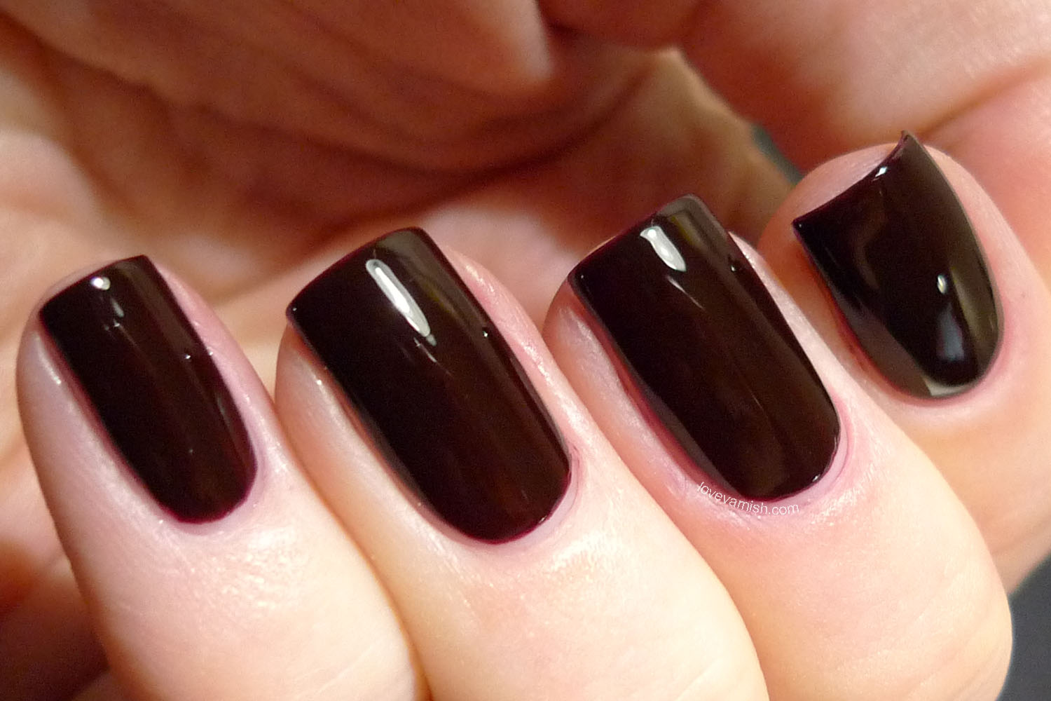 OPI I Sing In Color vampy burgundy creme Gwen Stefani collection