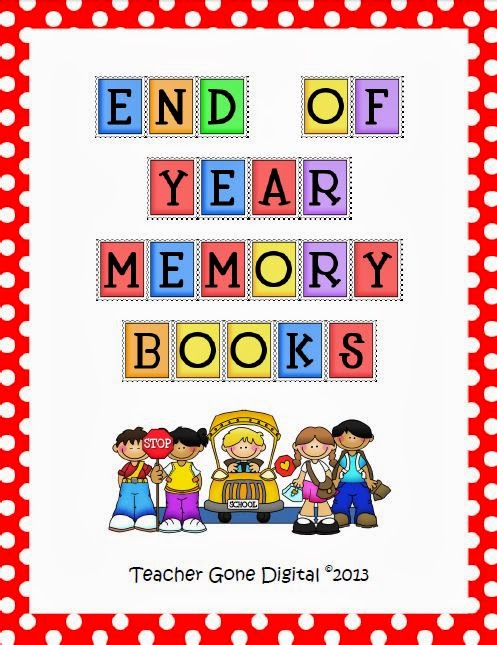 http://www.teacherspayteachers.com/Product/End-of-the-Year-Memory-Book-and-Activity-Packet-131789