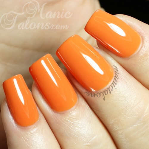 Revel Nail Gel Polish Dawn Swatch