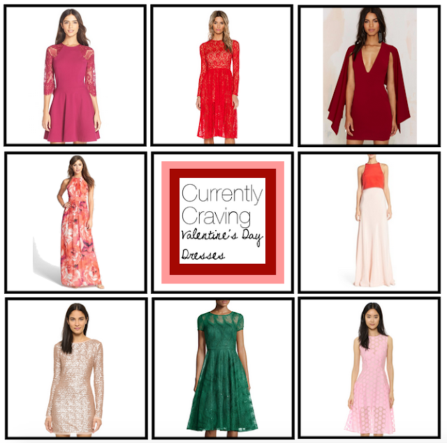 Craving, Valentine's Day, BB Dakota, Cushnie Et Ochs, Alfred Sung, Nordstrom, Diane von Furstenberg, Zarita, Rachel Zoe, Jill Stuart, Jenny Yoo, For Love & Lemons, Rent the Runway, dress, floral dress, lace dress, long sleeve dress