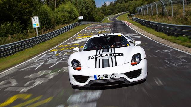 Porsche 918 Spyder Prototype imagenes 1080