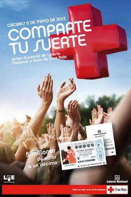 Sorteo de la Cruz Roja del 5 de mayo de 2012