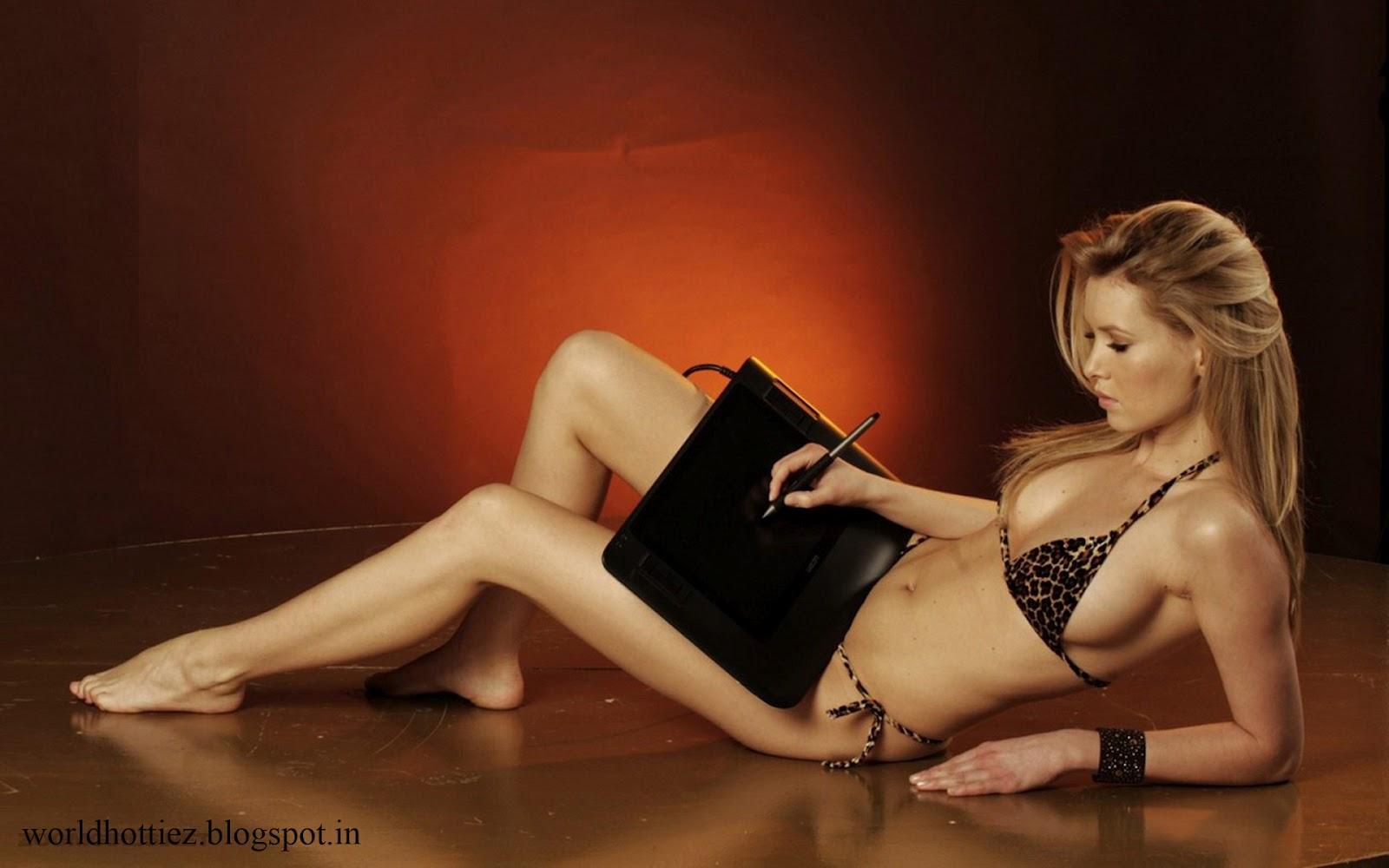 Lindsay Lohan Bikini Tapete