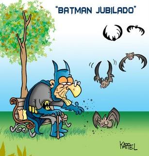 Meme - Batman jubilado