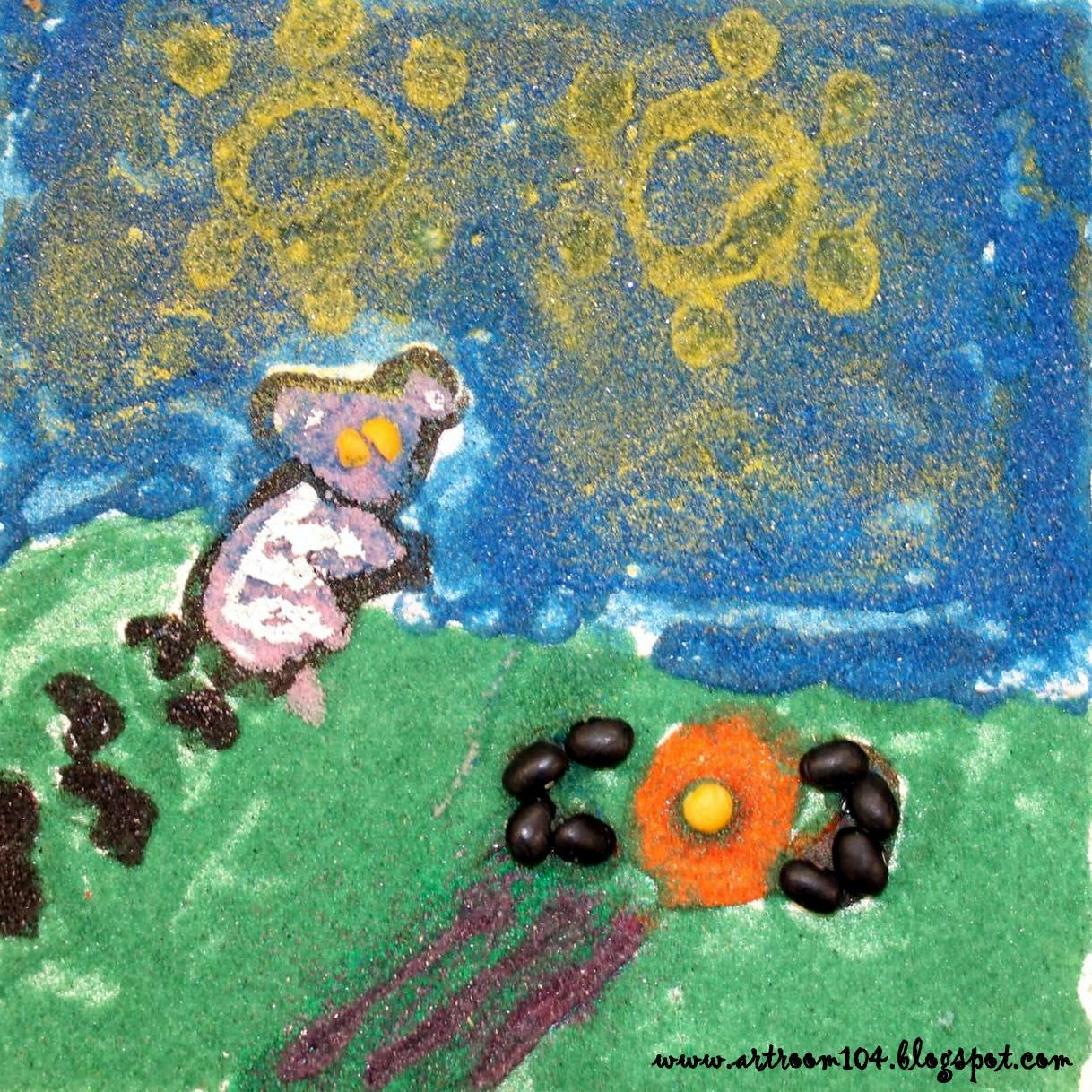 Art Room 104: 6th Grade Aboriginal Sand Paintings