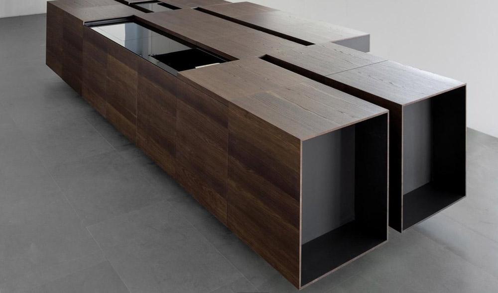 Cucine italiane italian kitchens solid wood modern kitchens for Solid wood modern kitchen cabinets