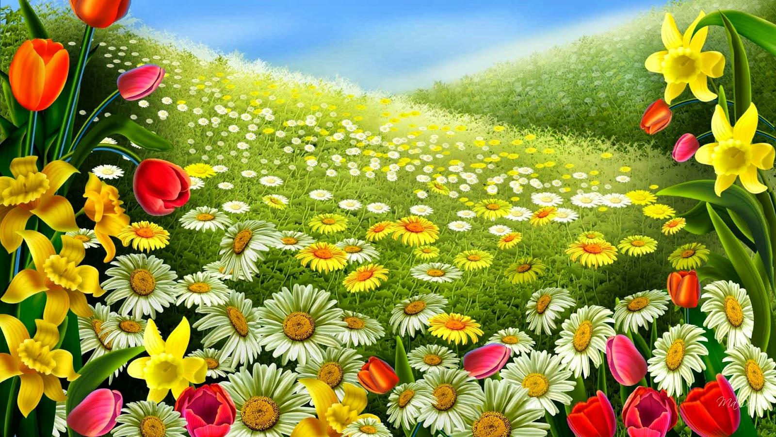 30 Wallpaper Bunga Cantik