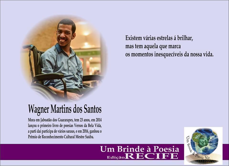 Um Brinde à Poesia Edição Recife/Wagner Martins
