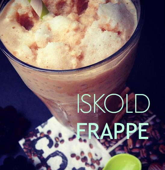 Frappe - iskold iskaffe opskrift - mit livs kogebog