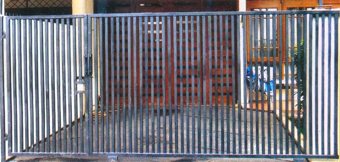 Gambar Pintu Pagar Besi Minimalis Sederhana