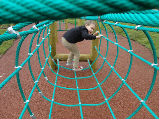 Big Boy at Hullabazoo Outdoor Play Area at ZSL Whipsnade Zoo