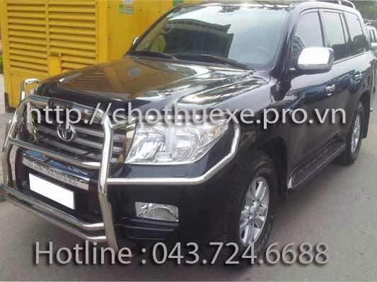 Cho thuê xe 7 chỗ VIP Toyota Land Cruiser