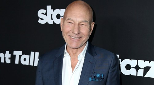 'X-Men' and 'Star Trek' star Sir Patrick Stewart