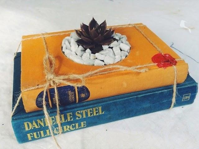 ideas creativas para reciclar libros