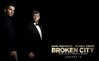 Broken City Movie 2013 Wahlberg and Crowe HD Wallpaper