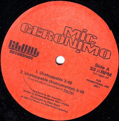 Mic Geronimo – Unstoppable (Promo VLS) (1996) (320 kbps)