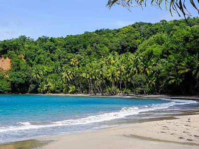 Wisata Pantai Sambolo Banten, Pantai Pasir Putih yang Mempesona