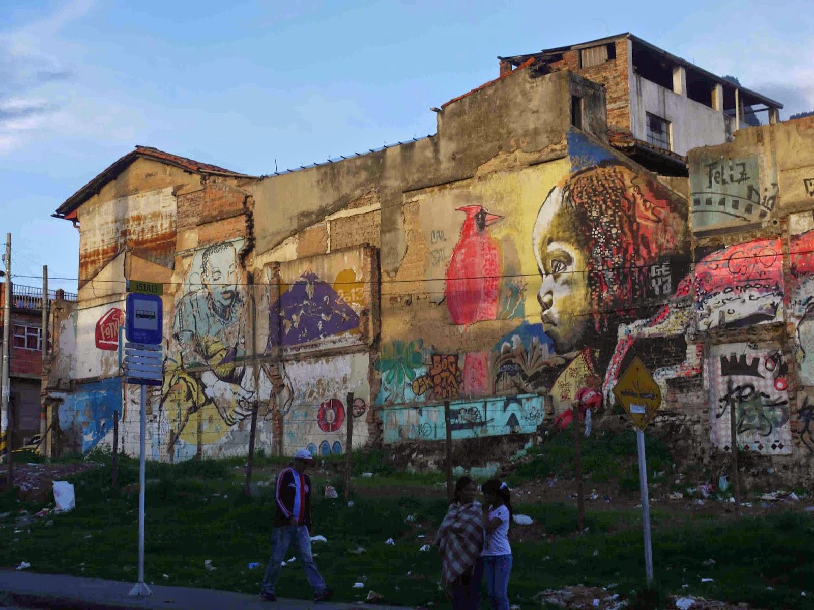 Mike 39 s bogota blog skating and biking in barrio egipto for Mural egipcio