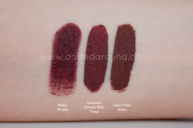 Anastasia Beverly Hills Vamp swatch lime crime