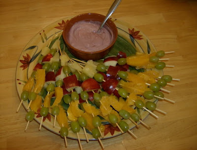 Yogurt Dip for Fruit Skewers | Ms. enPlace
