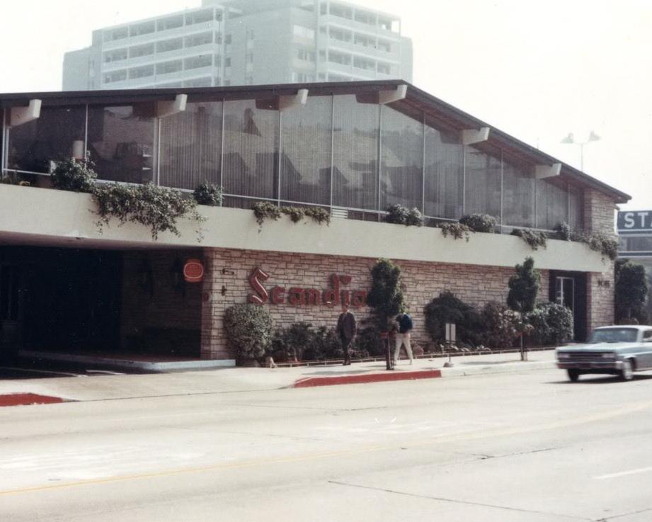 Scandia Restaurant On Sunset Strip