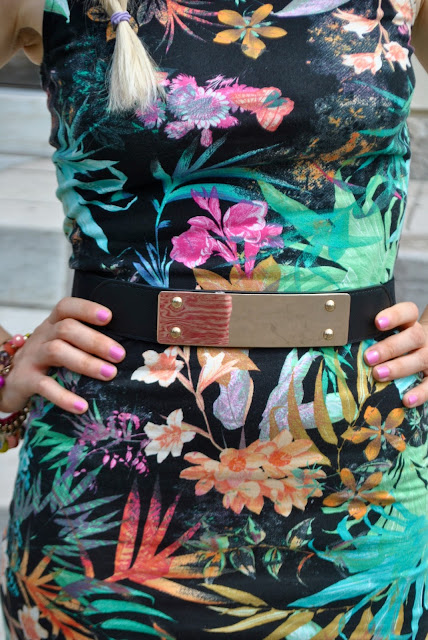 cintura rigida con placca oro cintura rigida cintura con placca dorata belt mariafelicia magno fashion blogger colorblock by felym lookbook streetstyle summer outfits outfit estate 2015