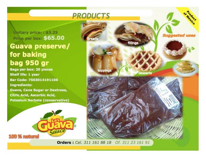 Guava preserve