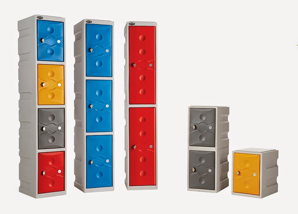 Ultrabox Waterproof Plastic Lockers from Shelf Space Limited