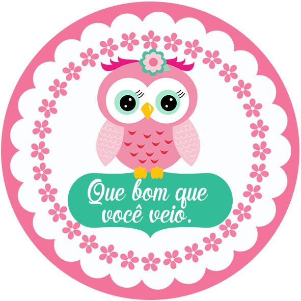 Convites E Tags De Corujinha Gratuito Dicas Pra Mamãe