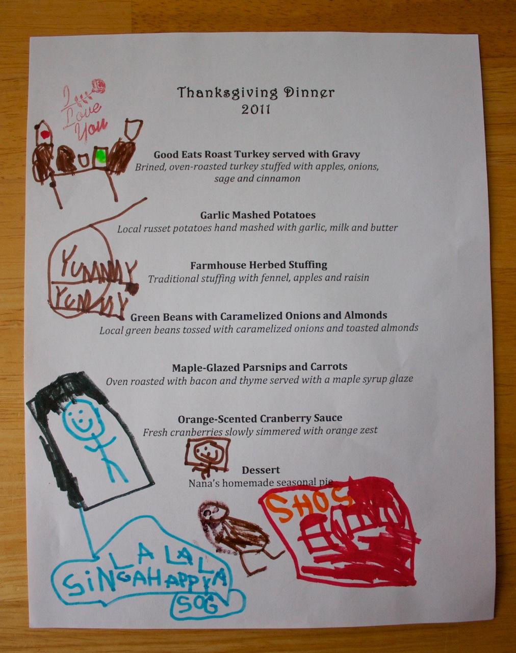 thanksgiving menu planner template. Black Bedroom Furniture Sets. Home Design Ideas