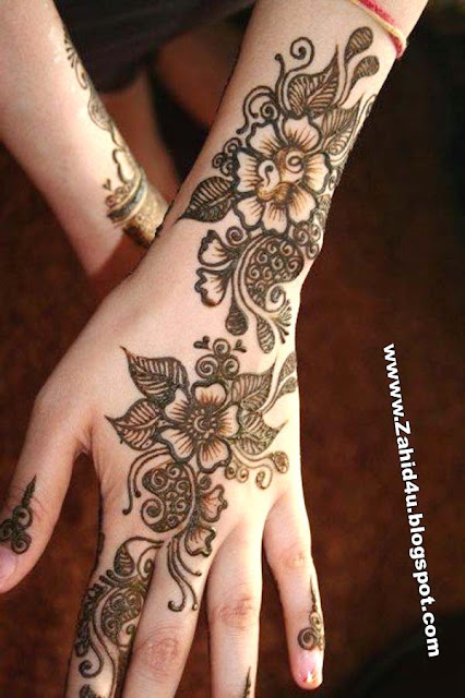 Mehndi Diya Design : Urdu design poetry