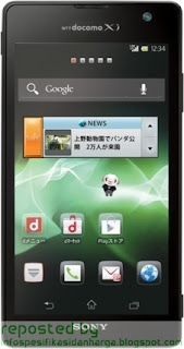 Harga Sony Xperia GX SO-04D Hp Terbaru 2012