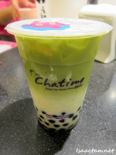 Chatime's Japanese Matcha Tea Latte