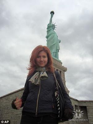 美豔女間諜 安娜查普曼 Anna Chapman