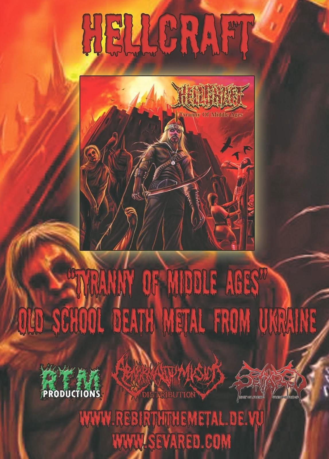 RTM039 HELLCRAFT - Tyranny of Middle Ages