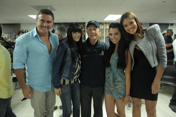 Fernando Carrera, Daniela Navarro, Scarlett Gruber y nuestra Zuleyka ...
