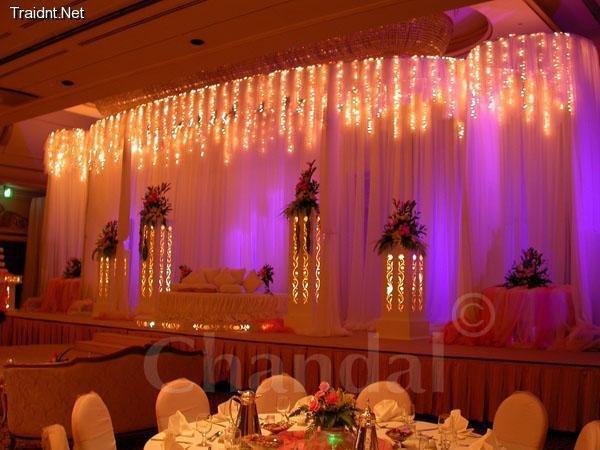 Interior Design Decorating Ideas Wedding Stage Flower