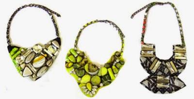 Isolda verão 2015 coleção Rouge colares