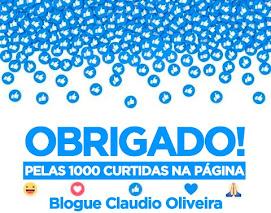 OBRIGADO PELAS + DE 1000  CURTIDAS EM NOSSA PÁGINA!