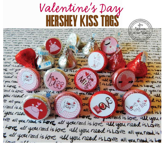 Give Hershey Kisses this Valentine's Day