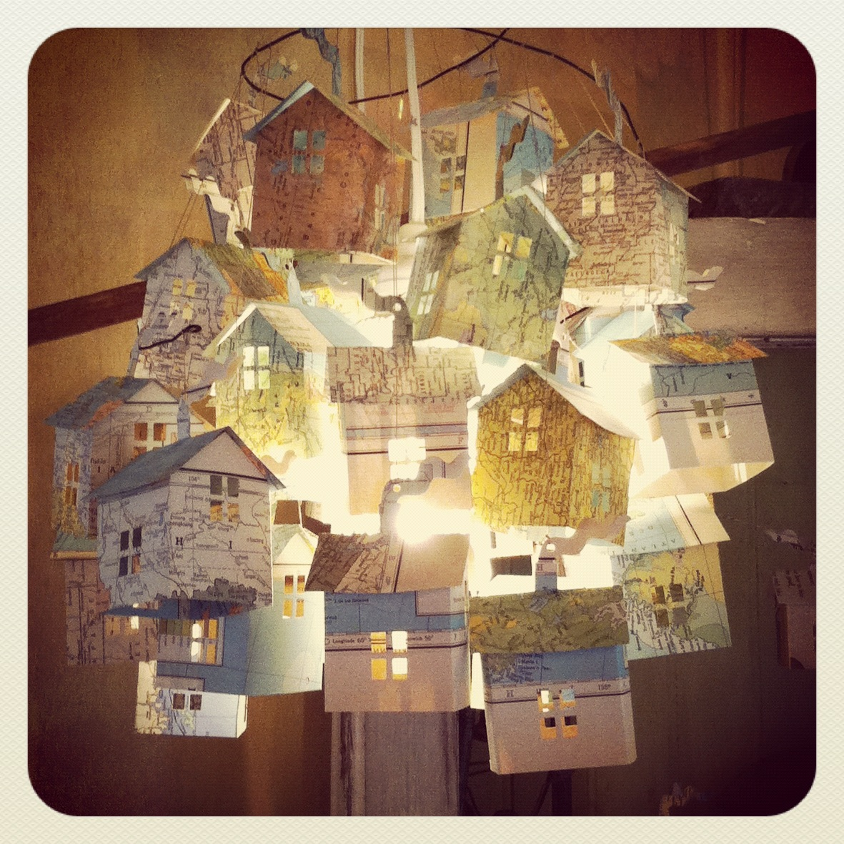 Hutch Studio Paper House Lights At Hutch