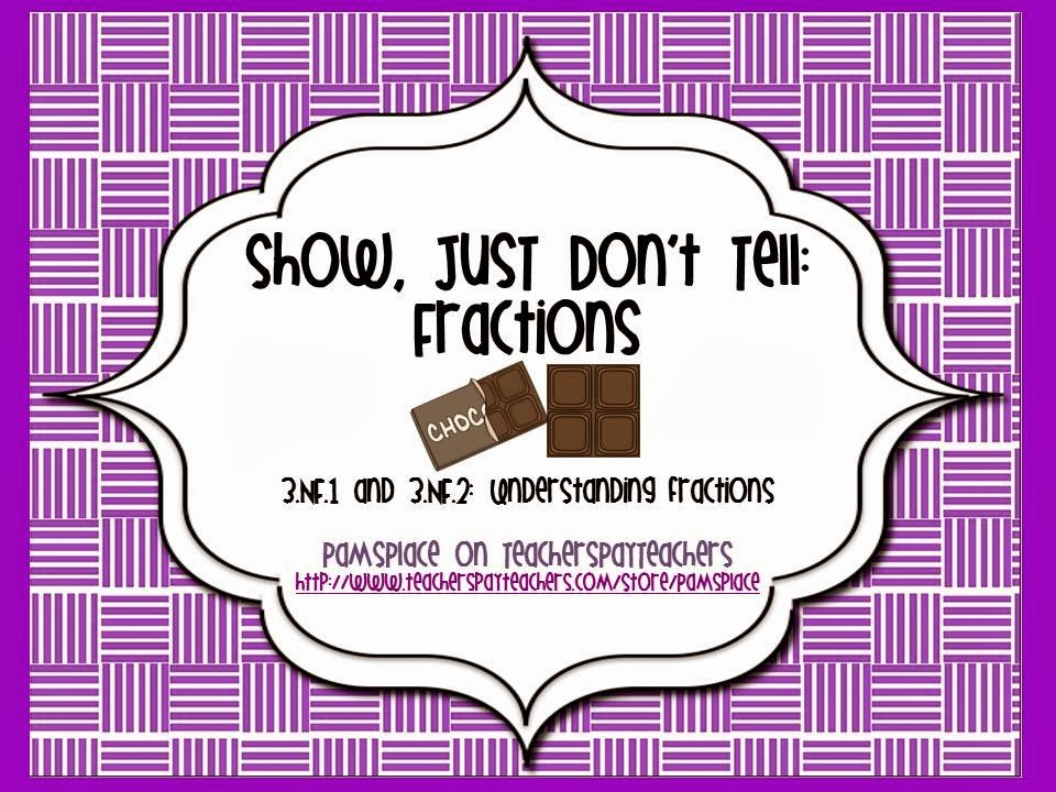 http://www.teacherspayteachers.com/Product/Show-Just-Dont-Tell-Fractions-536991