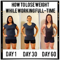 how to lose weight while working full-time
