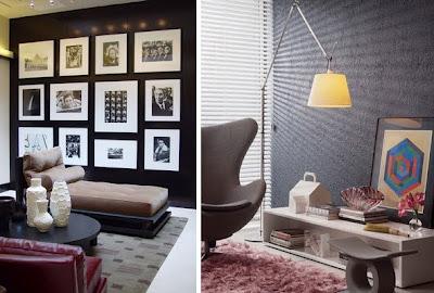Decoraciones y hogar decoraci n del hogar con tonos marrones for Decoracion hogar 2013