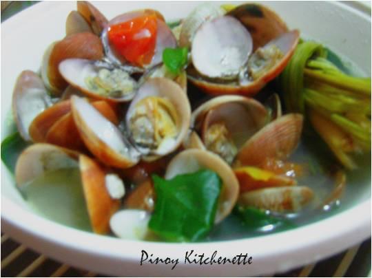 Lemongrass clam soup halaan sa tanglad pinoy kitchenette forumfinder Gallery