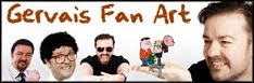 Ricky Gervais Fan Art site