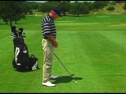 Golf Push Shot